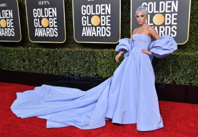 Mandatory Credit: Photo by Rob Latour/REX/Shutterstock (10048066jr) Lady Gaga 76th Annual Golden Globe Awards, Arrivals, Los Angeles, USA - 06 Jan 2019