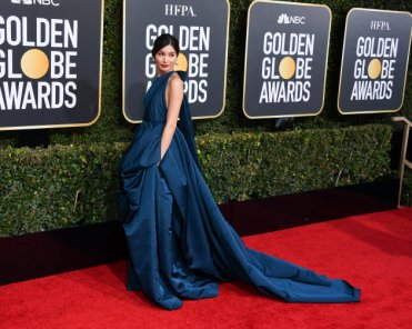 BEVERLY HILLS, CALIFORNIA - JANUARY 06: Gemma Chan attends the 76th Annual Golden Globe Awards held at The Beverly Hilton Hotel on January 06, 2019 in Beverly Hills, California. (Photo by George Pimentel/WireImage)